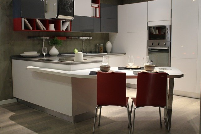 interiérová kuchyň