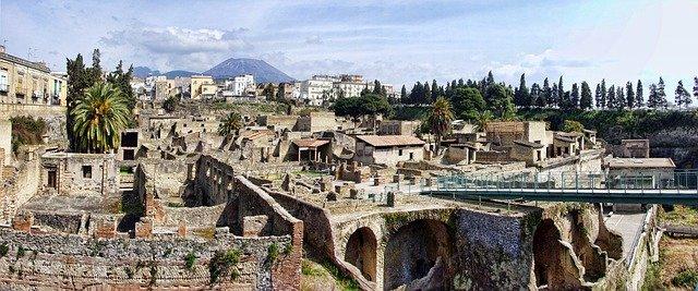 herculaneum itálie