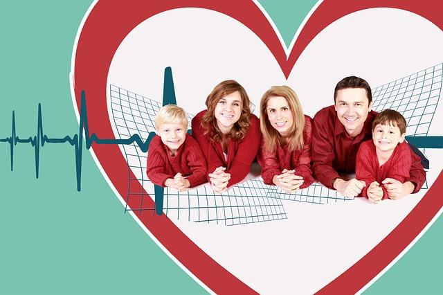 rodina v srdci