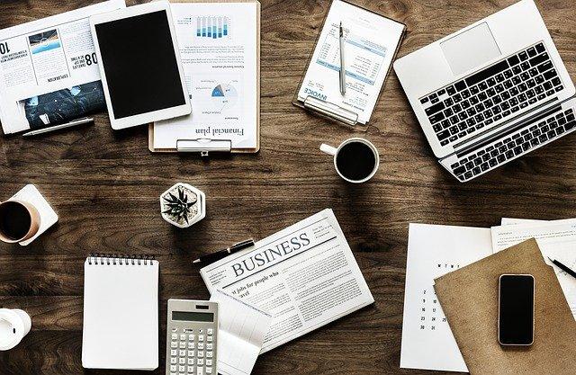 stůl podnikatele