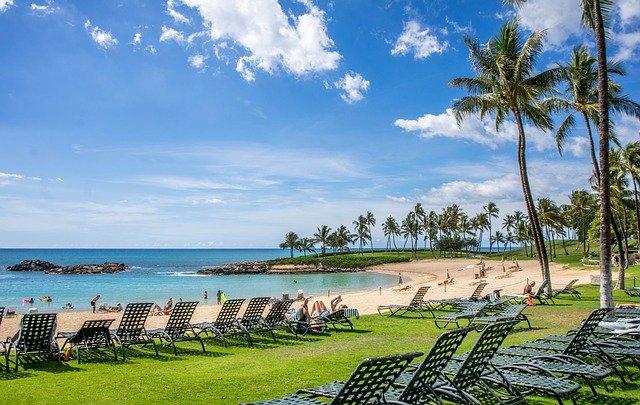 pláž Havaje