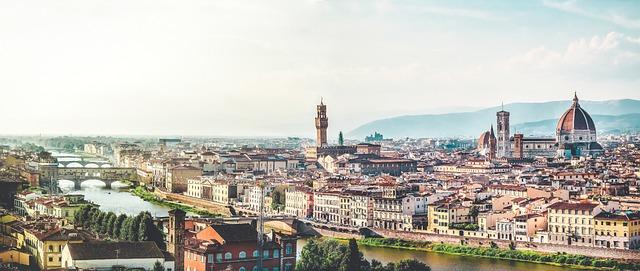 toskánsko panoráma